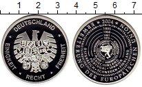 Изображение Монеты Германия Медаль 2004 Посеребрение Proof