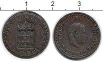Изображение Монеты Португальская Индия 1/12 танга 1903 Медь XF