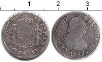 Изображение Монеты Северная Америка Мексика 1 реал 1808 Серебро VF