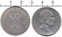 Изображение Монеты Европа Нидерланды 1 гульден 1858 Серебро XF