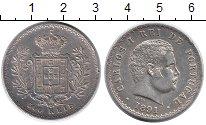 Изображение Монеты Европа Португалия 500 рейс 1891 Серебро XF