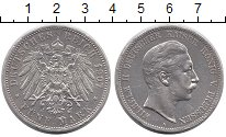 Изображение Монеты Германия Пруссия 5 марок 1907 Серебро XF