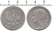 Изображение Монеты Европа Польша 5 злотых 1933 Серебро XF-