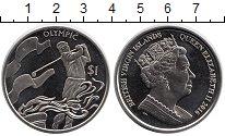 Изображение Мелочь Виргинские острова 1 доллар 2016 Медно-никель UNC Олимпийские игры,гол