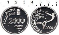 Изображение Монеты Европа Венгрия 2000 форинтов 1999 Серебро Proof