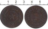 Изображение Монеты Азия Бруней 1 цент 1886 Медь VF