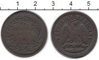 Изображение Монеты Северная Америка Мексика 1 сентаво 1889 Медь VF