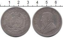 Изображение Монеты Африка ЮАР 2 1/2 шиллинга 1895 Серебро VF