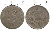 Изображение Монеты Гватемала 1 реал 1912 Медно-никель XF