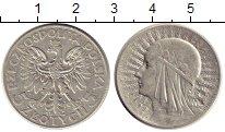 Изображение Монеты Европа Польша 5 злотых 1932 Серебро XF-