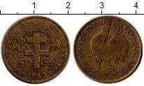 Изображение Монеты Французская Экваториальная Африка 50 сантим 1942 Латунь VF