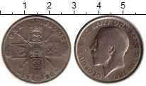 Изображение Монеты Европа Великобритания 1 флорин 1920 Серебро VF