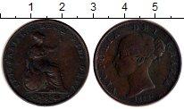 Изображение Монеты Европа Великобритания 1/2 пенни 1853 Медь VF