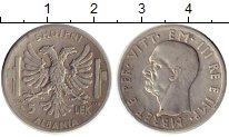 Изображение Монеты Европа Албания 5 лек 1939 Серебро XF-