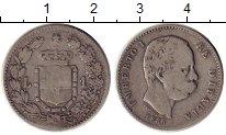 Изображение Монеты Италия 1 лира 1886 Серебро VF