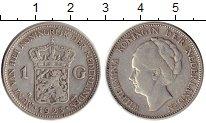 Изображение Монеты Нидерланды 1 гульден 1923 Серебро XF