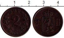 Изображение Монеты Европа Норвегия 2 эре 1889 Бронза XF