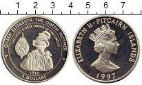 Изображение Монеты Великобритания Острова Питкэрн 5 долларов 1997 Серебро Proof