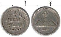 Изображение Монеты Северная Америка Гватемала 1/4 реала 1899 Серебро XF
