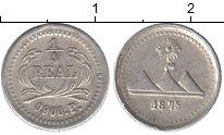 Изображение Монеты Гватемала 1/4 реала 1875 Серебро XF