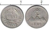 Изображение Монеты Северная Америка Гватемала 1/4 реала 1896 Серебро XF