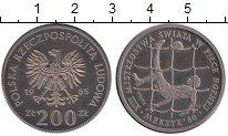 Изображение Монеты Европа Польша 200 злотых 1985 Медно-никель Proof-