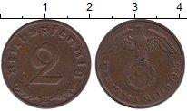 Изображение Монеты Третий Рейх 2 пфеннига 1937 Бронза XF E