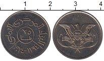 Изображение Монеты Азия Йемен 25 филс 1974 Медно-никель UNC-