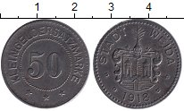 Изображение Монеты Германия : Нотгельды 50 пфеннигов 1918 Железо XF Город Вейда