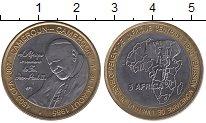 Изображение Монеты Камерун 4500 франков 2007 Биметалл UNC- Визит  Понтифика  Ио