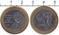 Изображение Монеты Камерун 4500 франков 2007 Биметалл UNC-