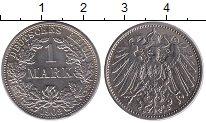 Изображение Монеты Германия 1 марка 1902 Серебро XF F