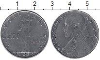 Изображение Монеты Европа Ватикан 100 лир 1958 Медно-никель UNC-