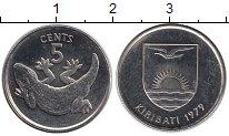 Изображение Монеты Австралия и Океания Кирибати 5 центов 1979 Медно-никель UNC