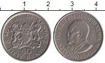 Изображение Монеты Кения 50 центов 1974 Медно-никель XF Первый президент Кен