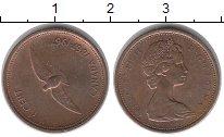 Изображение Монеты Канада 1 цент 1967 Медь XF