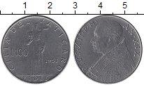 Изображение Монеты Европа Ватикан 100 лир 1957 Медно-никель XF