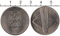 Изображение Монеты Европа Польша 10 злотых 1971 Медно-никель UNC-