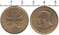 Изображение Монеты Кения 5 центов 1978 Латунь XF