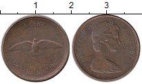 Изображение Монеты Северная Америка Канада 1 цент 1967 Медь XF