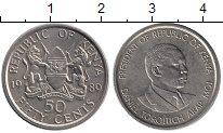 Изображение Монеты Африка Кения 50 центов 1989 Медно-никель VF