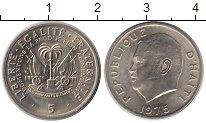 Изображение Монеты Северная Америка Гаити 5 центов 1975 Медно-никель XF