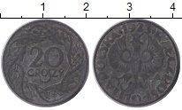 Изображение Монеты Европа Польша 20 грош 1923 Цинк VF