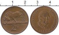 Изображение Монеты Африка ЮАР 2 цента 1982 Медь XF