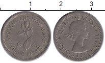 Изображение Монеты Родезия 3 пенса 1962 Медно-никель XF