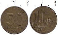 Изображение Монеты ГДР 50 пфеннигов 1950 Латунь XF