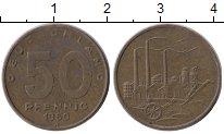 Изображение Монеты Германия ГДР 50 пфеннигов 1950 Латунь XF