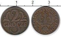 Изображение Монеты Европа Польша 2 гроша 1935 Бронза XF