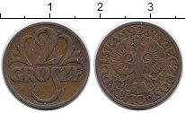 Изображение Монеты Польша 2 гроша 1928 Бронза XF