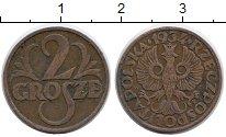 Изображение Монеты Польша 2 гроша 1934 Бронза XF
